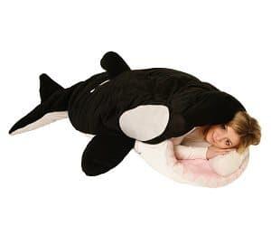 killer whale sleeping bag