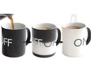 on off heat changing mug
