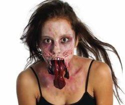 split jaw latex mask