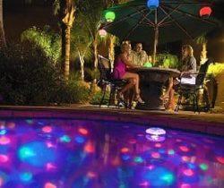 underwater disco light
