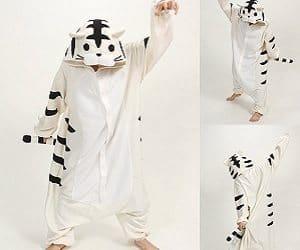 white tiger onesie