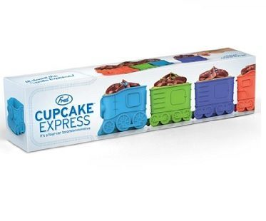 Express Train Cupcake Molds