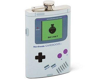 Game Boy Flask