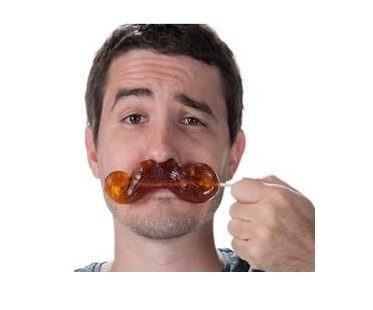 Giant Gummy Mustache