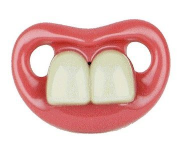 Goofy Teeth Pacifier