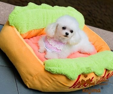 Hot Dog Bed Shiba