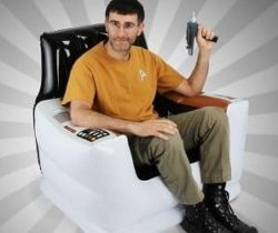 Star Trek Inflatable Chair