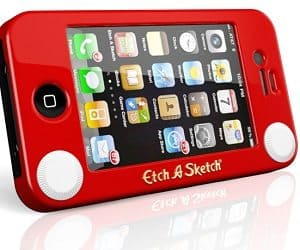 etch a sketch iPhone case