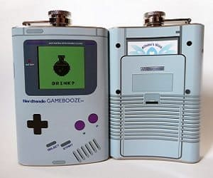 gameboy flask