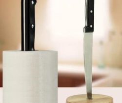 knife kitchen towel holder
