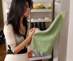 magnetic kitchen towel