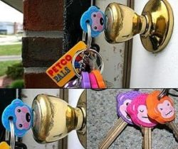 monkey key covers