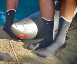 shark bite socks