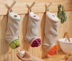 vegetable storage sacks