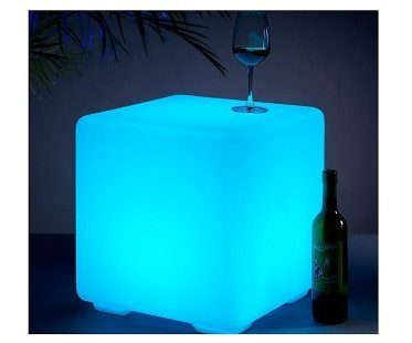 Color Changing LED Cube