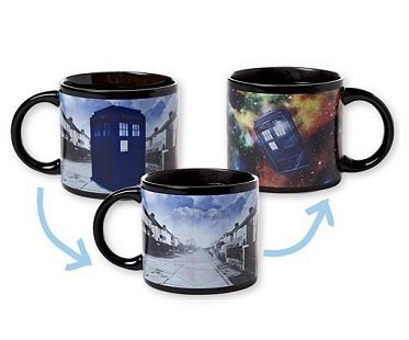 Dr Who Heat Changing Mug