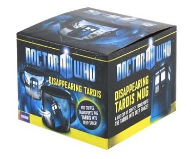 Dr Who Heat Changing Mugs