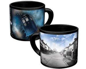 Dr Who heat changing mug