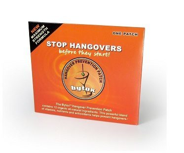 Hangover Prevention Patch