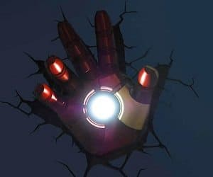 Iron Man Hand Night Light