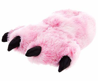 PINK-BEAR-FEET-SLIPPERS