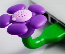USB scent flower