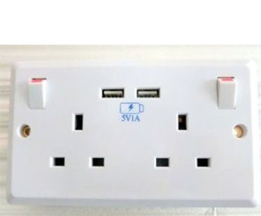 WALL-PLUG-AND-USB-OUTLET