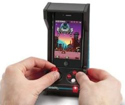 iPhone arcade machine