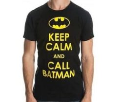 keep calm batman t-shirt