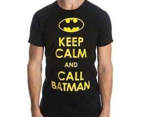 keep calm batman t-shirt