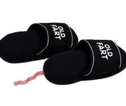 old fart slippers
