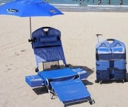 6-in-1 beach lounger