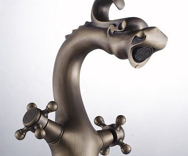 Chinese Dragon Sink Faucet