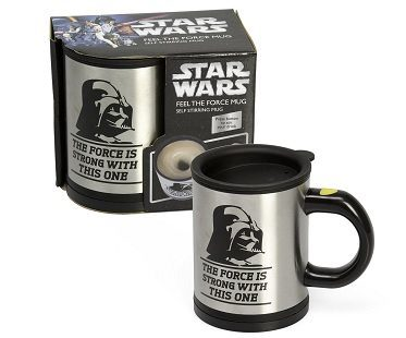 Darth Vader Self Stirring Mugs