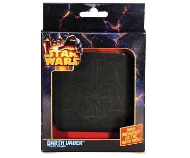 Darth Vader Toast Stamps