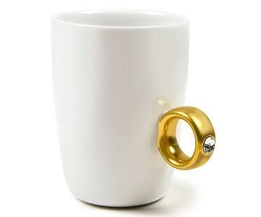 Diamond Ring Mugs