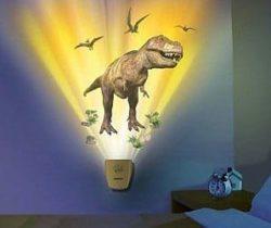 Dinosaur projection lamp