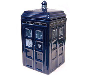 Dr Who Tardis Cookie Jar