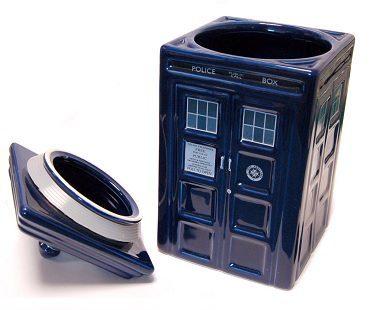 Dr Who Tardis Cookie Jars
