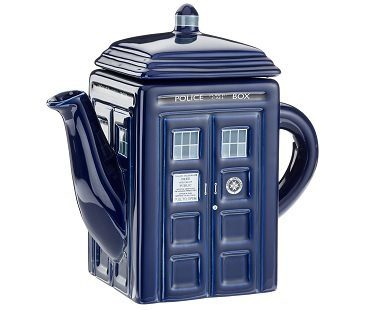 Dr Who Tardis Teapot