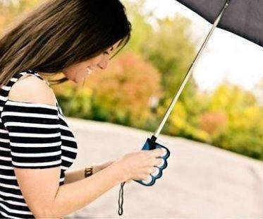 Finger Grip Umbrellas