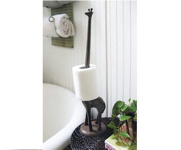Giraffe Toilet Roll Holder