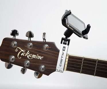 Guitar Smartphone Clips