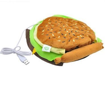 Heated Hamburger Mouse Pad