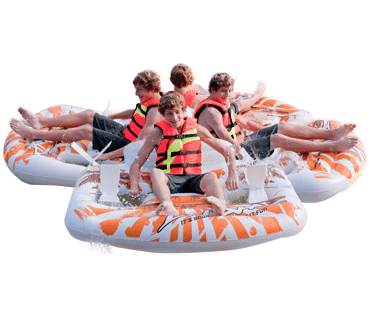 INFLATABLE-PEDAL-BOATS