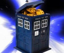 Lights & Sounds Tardis Jar