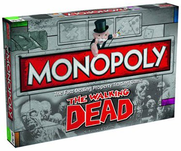The Walking Dead Monopoly Deutsch
