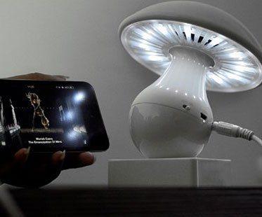 MUSHROOM-LAMP-AND-SPEAKERS