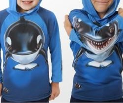 Orca Whale Hoodie