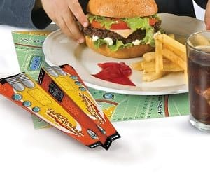 airplane origami placemats